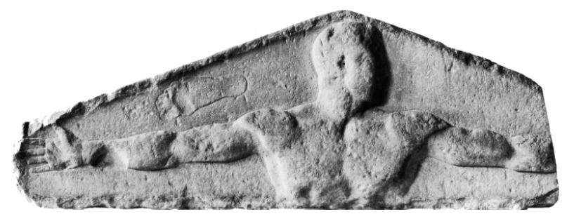 Figure 2(a) (left)The Ashmolean Relief. From the Ashmolean Museum, Oxford, England.
