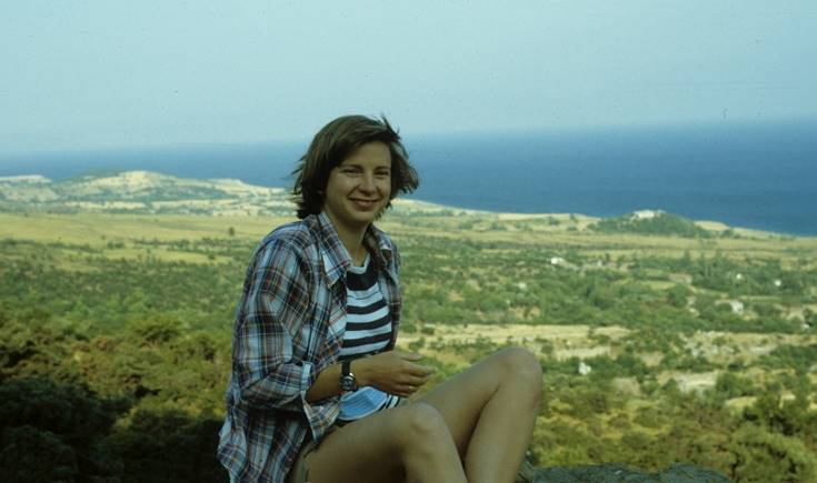 Dr. Bonna Wescoat, Samothrace, 1978.